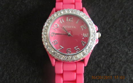 Pink Wrist Watch - Girls $