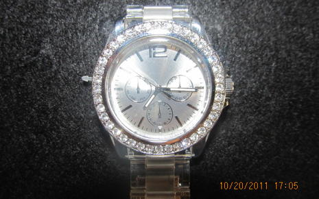 Clear Wrist Watch - Girls $